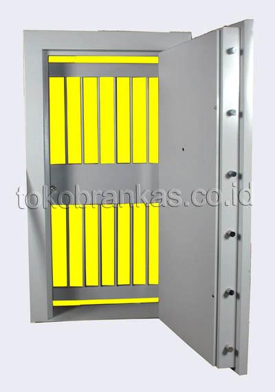 pintu khasanah vault door besi-baja fire door tipe 50 PK