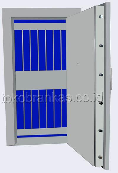 pintu khasanah vault door besi-baja fire door tipe 70 PK (2)