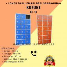 Lemari Arsip Loker Kozure Locker Besi 18 Pintu KL-18 Filling Cabinet