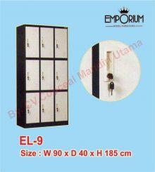 Lemari Loker (Locker Besi) 9 Pintu EL-9 Conceal Mandiri