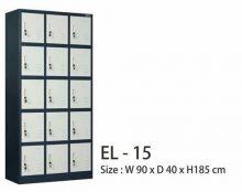 Lemari Loker Besi Locker EL-15 Conceal Mandiri