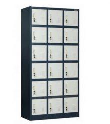 Lemari Loker (Locker Besi) 18 Pintu EL-18 Conceal Mandiri