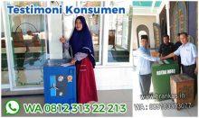 Brankas kotak infak, sumbangan masjid, kotak sodakoh mushola CONSEAL SOLID B
