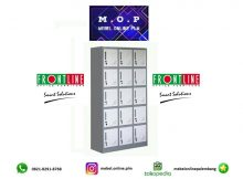 Frontline Loker Locker Cabinet Besi 15 Pintu LK15 / Lemari Besi